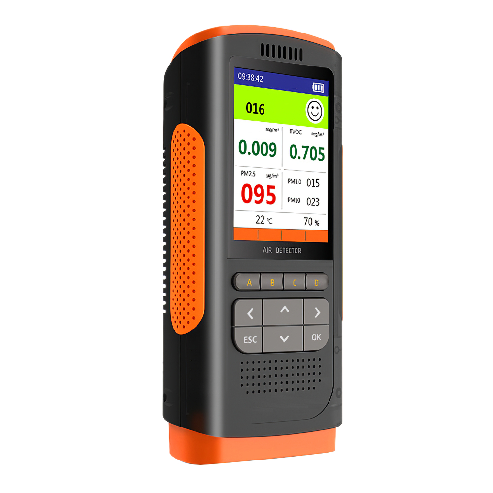 home improvement : Formaldehyde Detector Air Quality Monitor Portable Display Formaldehyde Detector Ndoor Air Pollution Meter Micro Dust TesterNice