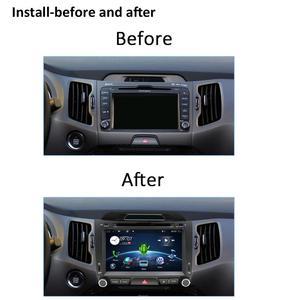 Image 5 - Bosion 32 2G + G Android 10.0 DVD player Do Carro KIA sportage r 2011 2012 2013 2014 2015 carro de rádio unidade de cabeça de navegação gps som do carro