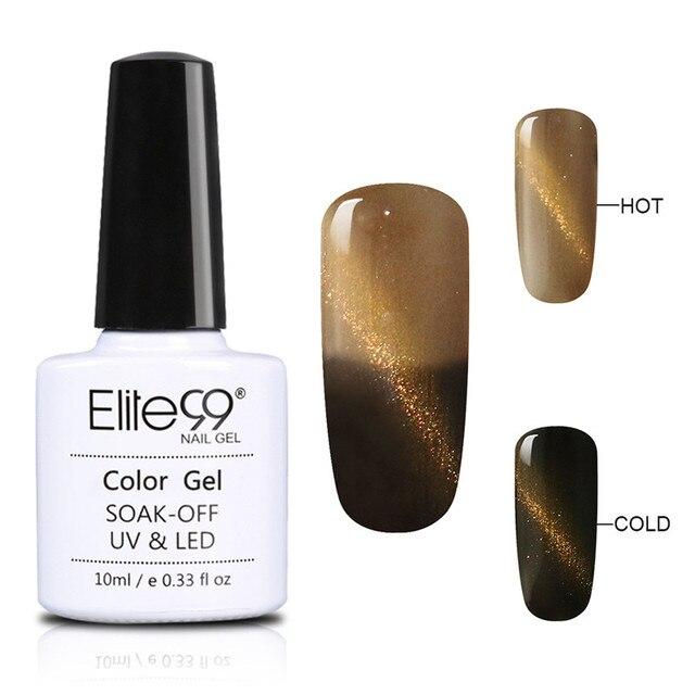 Elite99 10ml Magnetische Nagel Gel Polnisch 3D Katze Auge Wirkung UV Gel nagellack Tränken weg von Chameleon Gel Lacke maniküre Lack