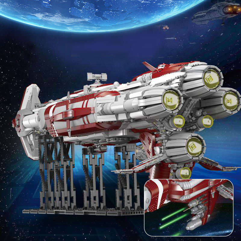 05079 Star Toys Wars The MOC Zenith Old Republic Escort Cruiser Model Compatible With Legoing Building Blocks Kid Christmas Gift 1