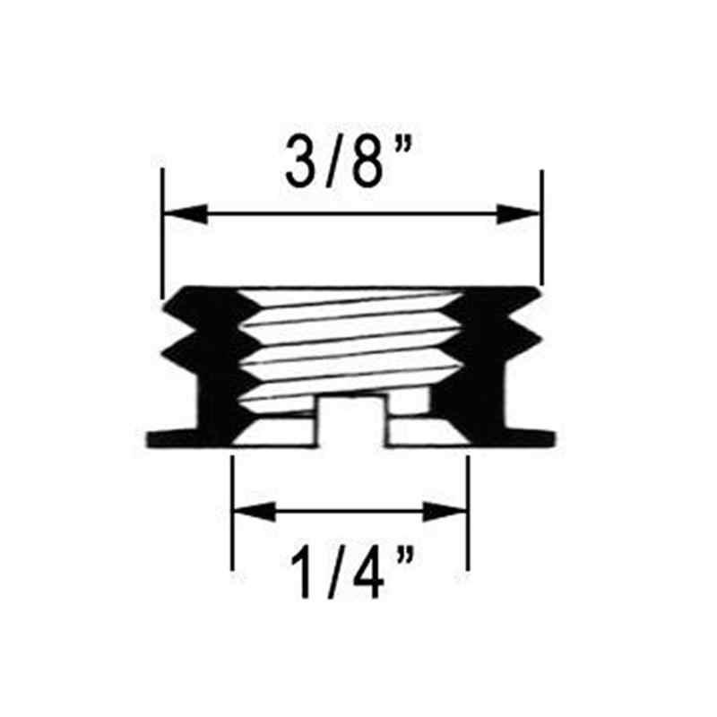 """1/4 """"Đến 3/8"""" Chuyển Đổi Vít Adapter Dành Cho Chân Máy & Monopod Ballhead DSLR SLR"""