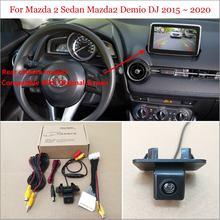 Автомобильная камера заднего вида 28Pin адаптер кабель для Mazda 2 Sedan Mazda2 Demio DJ 2015 ~ 2020 оригинальный экран совместимый с камерой заднего вида
