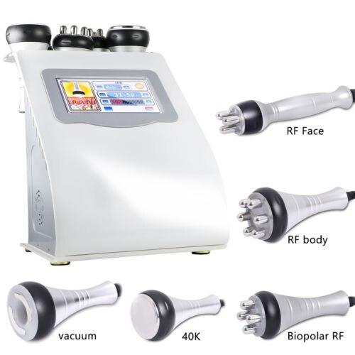 Liposukcja ultradźwiękowa 40K kawitacja próżniowa wielobiegunowy bicolor laser rf odchudzanie częstotliwości radiowej urządzenie kosmetyczne