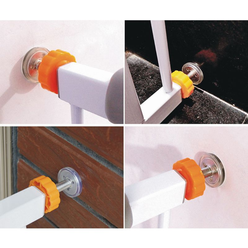 Baby Safety Stairs Gate Screws/Bolts With Locking Nut Spare Part Accessorie 4pcs P31B