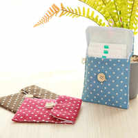 Women's Girls Diaper Sanitary Napkin Storage Bag Sanitary Pads Package Bags Coin Purse Jewelry Organizer Credit Card Pouch Case