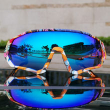 Kapvoe photochromic ciclismo óculos lente completa vermelho azul verde polarizado óculos de sol ciclismo lente atacado