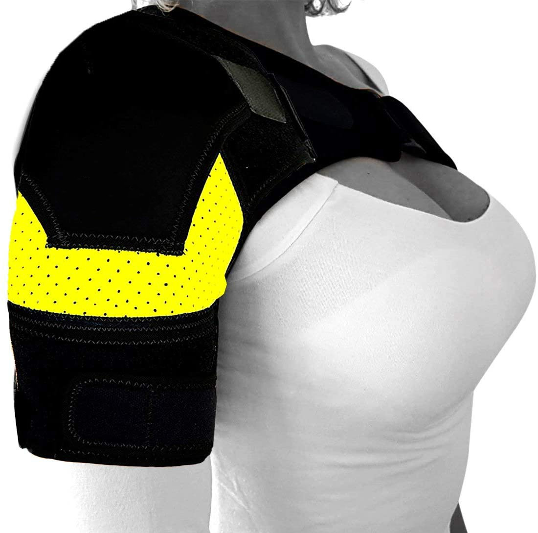 Shoulder Brace for AC Joint Tendinitis for Pain Relief Injury Prevention Compression Shoulder Support Rotator Cuff Brace