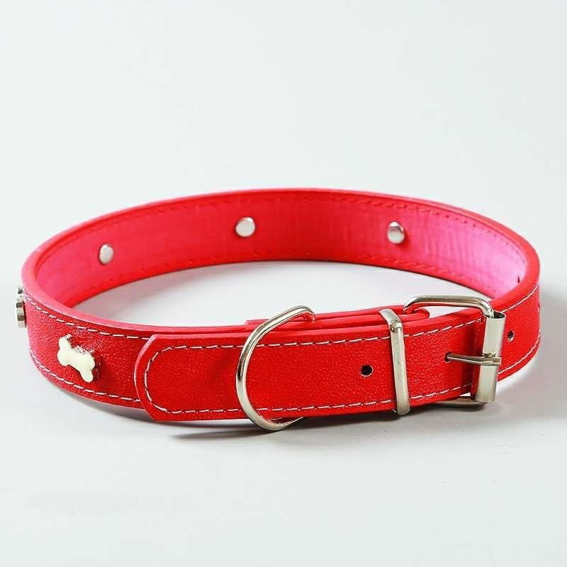 Dog Collar Necklace Pet Tidy Products Leather Set  Large Harness Collars