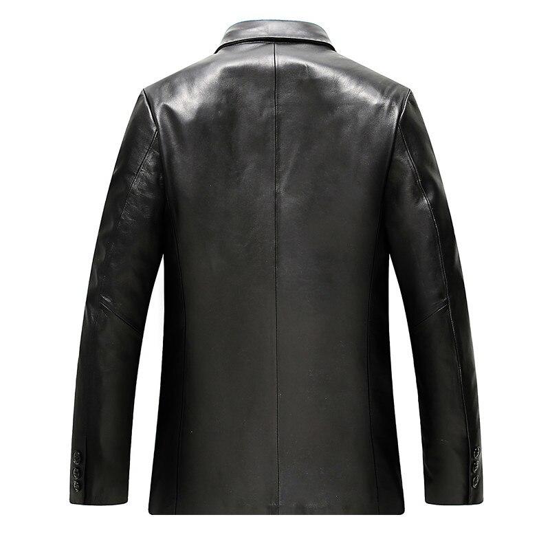 AYUNSU Spring Autumn Sheepskin Coat Genuine Leather Jacket Men Clothes 2020 Blazer Real Mens Leather Jackets WZM803 KJ2105