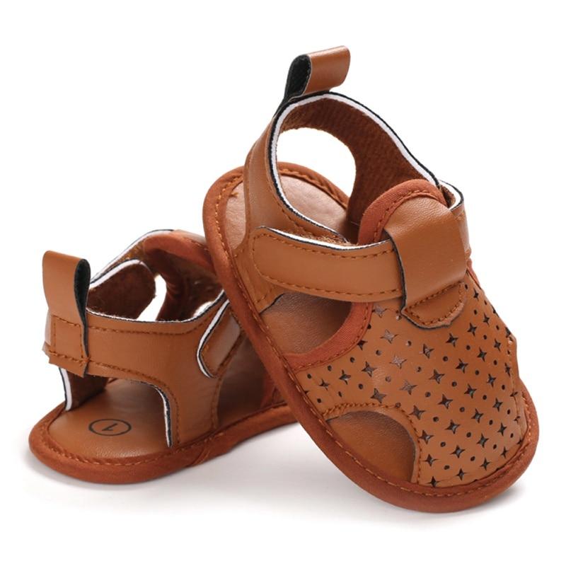 2020 Brand Toddler Newborn Baby Boy Girl Sandals Soft Sole Shoes Leather Sandals Prewalker Summer Baby Shoes 0-18M