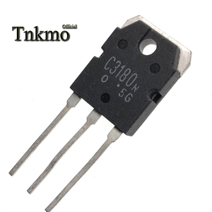 Image 3 - 10Pairs 2SA1263 TO 3P 2SA1263N A1263N + 2SC3180 2SC3180N C3180N TO3P SILICON NPN PNP TRIPLE DIFFUSED TYPE  free delivery