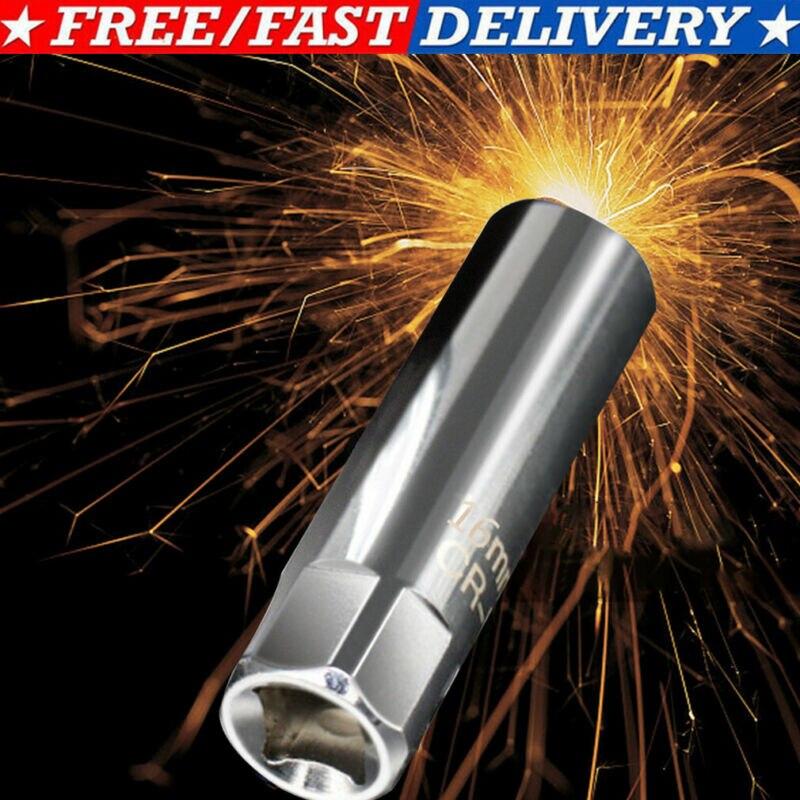 14mm 16mm tomada de vela de ignição 12-point ferramenta de remoção magnética 3/8 drive drive drive para bmw mini tomada de vela de ignição