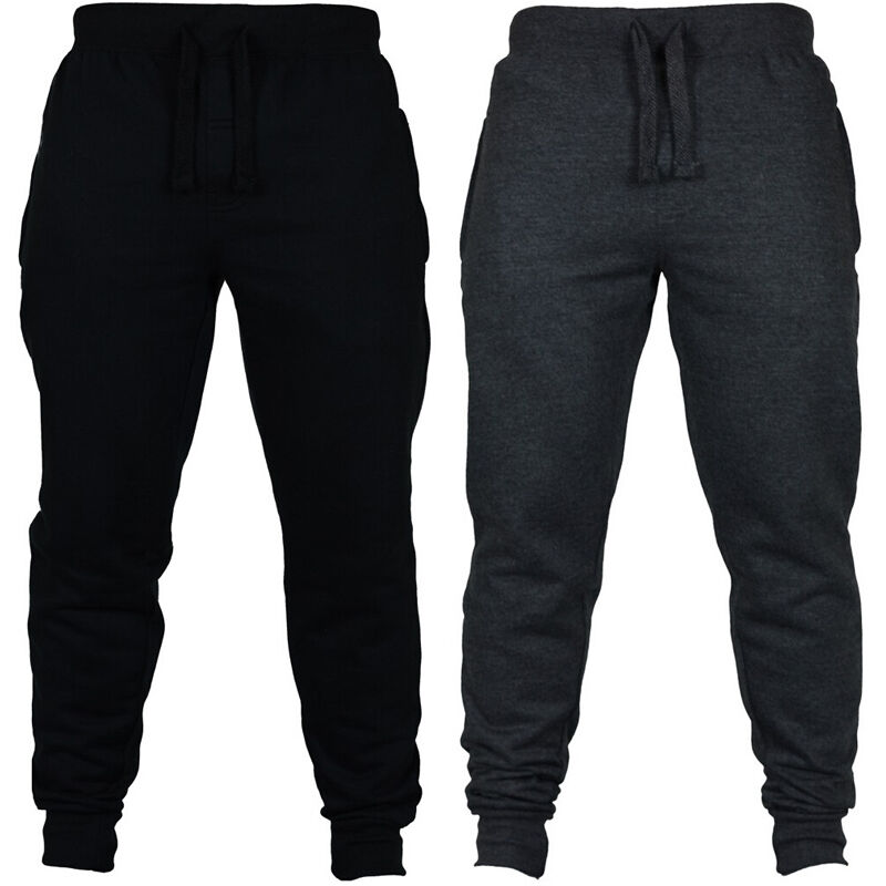 HIRIGIN Autumn Brand High Quality Men's Pants Men's Casual Sweatpants Solid High Street Trousers Men Joggers Oversize S-2XL