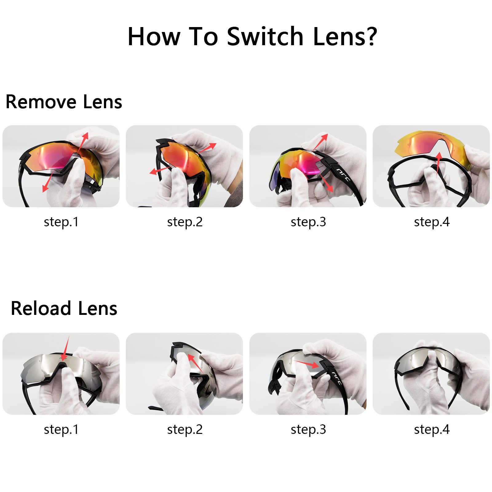 Солнцезащитные очки для велоспорта, фотохромные, с защитой UV400