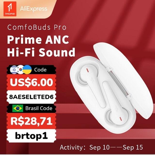 1MORE ComfoBuds Pro ES901 Беспроводные наушники Bluetooth 5.0  1