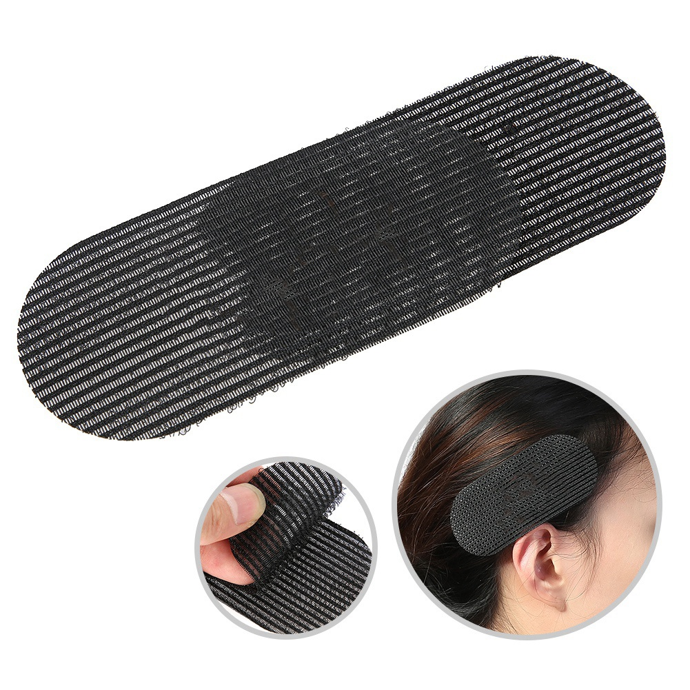 2 Pcs Hair Grip Styling Bangs Paste Posts No Trace Hair Holder Barber Gripper Hair Sticker Clip Magic Tape Fringe Hair Bang