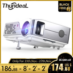 Image 1 - ThundeaL Full HD Projector Native 1920 x 1080P WiFi Android 6.0 Projector 7000Lumens Beamer Home Theater 3D Video Proyector
