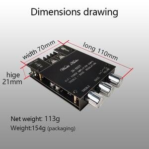 Image 5 - Kỹ Thuật Số TPA3116D2 Bluetooth 5.0 Siêu Trầm Bảng Mạch Khuếch Đại 2.0 Kênh Công Suất Âm Thanh Khuếch Đại Âm Thanh Nổi Ban 2*50W Bass AMP ZK 502T