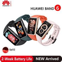 "In Stock! Original HUAWEI Band 6 Smart Band 2 Week Battery Life SpO2 1.47"" FullView Display Fitness Smart Bracelet Smart Watch"
