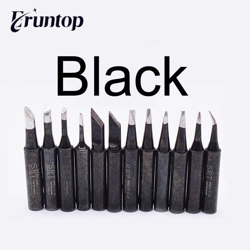 1pcs Black 900M Soldering Tips for Hakko Eruntop 936 937 8586 SMD Rework Station