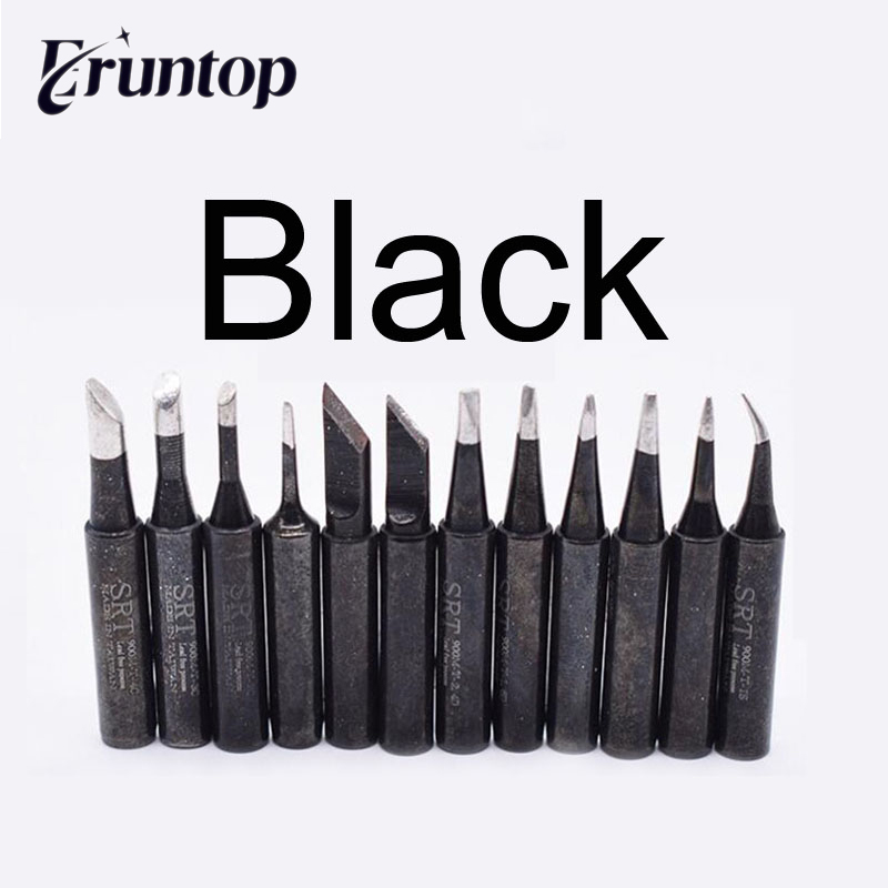 1pcs Black Silver Gold 900M Soldering Tips For Hakko Eruntop 936 937 8586 SMD Rework Station
