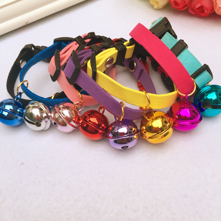 Dog Bell Small Dogs Teddy Puppy Collar Dog Supplies Cat Neck Ring Pet Golden Retriever Collar Anti-Lost