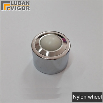 XICION Precision Straight 360degree Ball//Caster//Wheel,kSM-12FL Universal Ball Bearing//M8 Screw Cylinder,Flexible Durable,Hardware