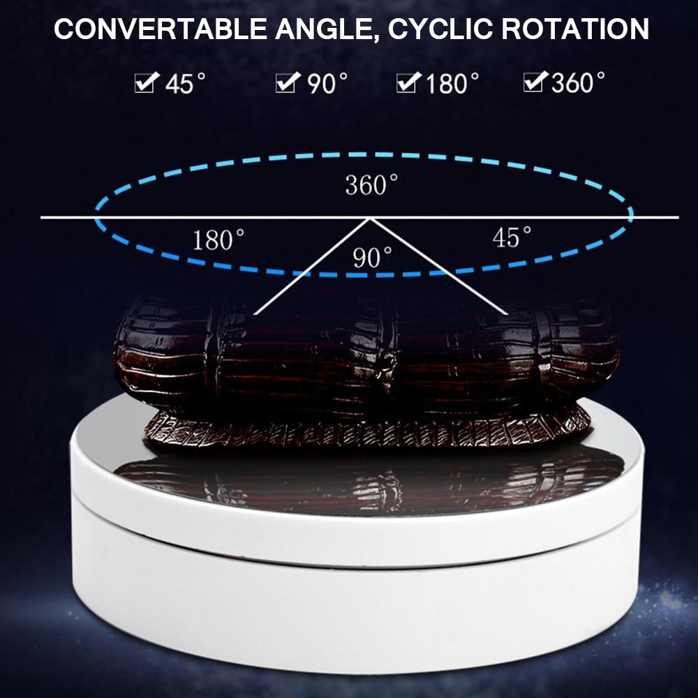 DealÁPhoto-Background-Frame Angle-Photo Rotating Three-Speed Table Studio Electric-DisplayÙ