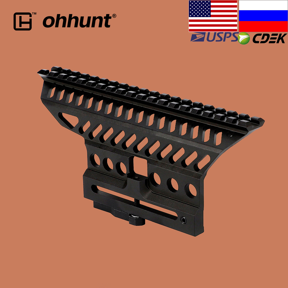 Ohhunt Тактический быстрого отсоединения рейку B-13 классический AK прицел кронштейн Вивер Пикатинни База для охотничьих винтовок
