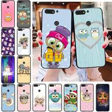 Babaite Leuke Uil Diy Printing Telefoon Case Cover Shell Voor Huawei Honor 8X 9 10 20 Lite 7A 7C 10i 9X Spelen 8C 9 Xpro(China)