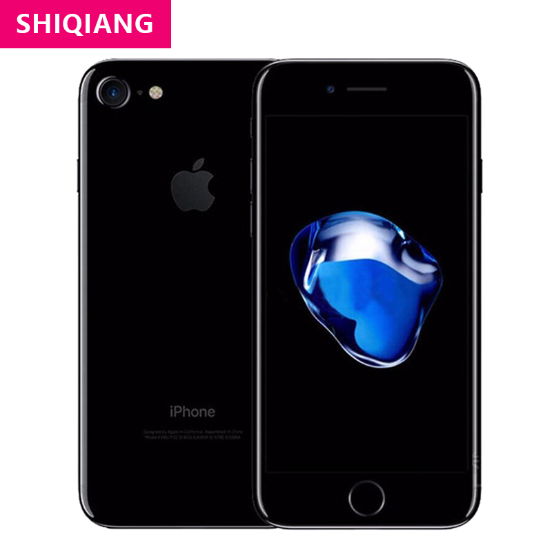 Original Used Unlocked Apple iPhone 7 Cell phones 32GB/128GB/256GB ROM IOS 4G LTE 4.7'' 12MP Quad-Core Fingerprint telephone A10
