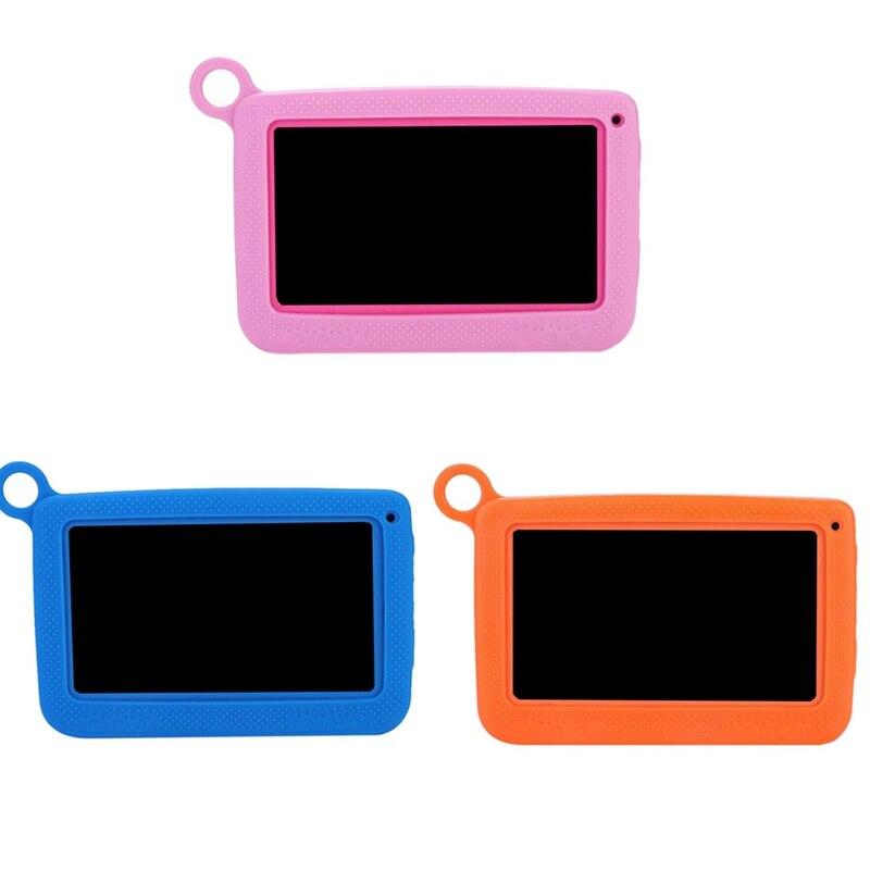 Bébé enfants apprentissage jouets Portable tablette Bluetooth + Wifi enfants apprentissage tablette housse de protection 7 pouces 1024x600 Eu Plug tablette - 6