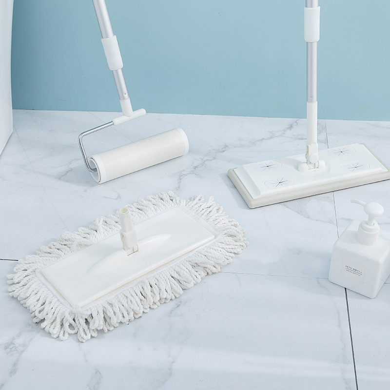 Flat Mop Floor-Hair-Remover Paper-Cleaning-Set Electrostatic-Mop Multifunctional Household