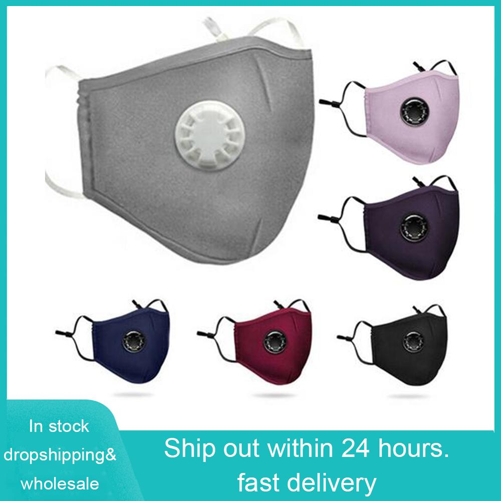 Mask Mascherine Washable Virus Respirator Prevent Saliva Antibacterial With PM2.5 Filter Reusable Dust Face Masks Dropshipping