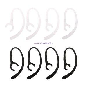 1 par anti-perdido macio bluetooth fone de ouvido gancho clipe fone de ouvido suporte esporte fone de ouvido gancho braçadeira titular earloop asas