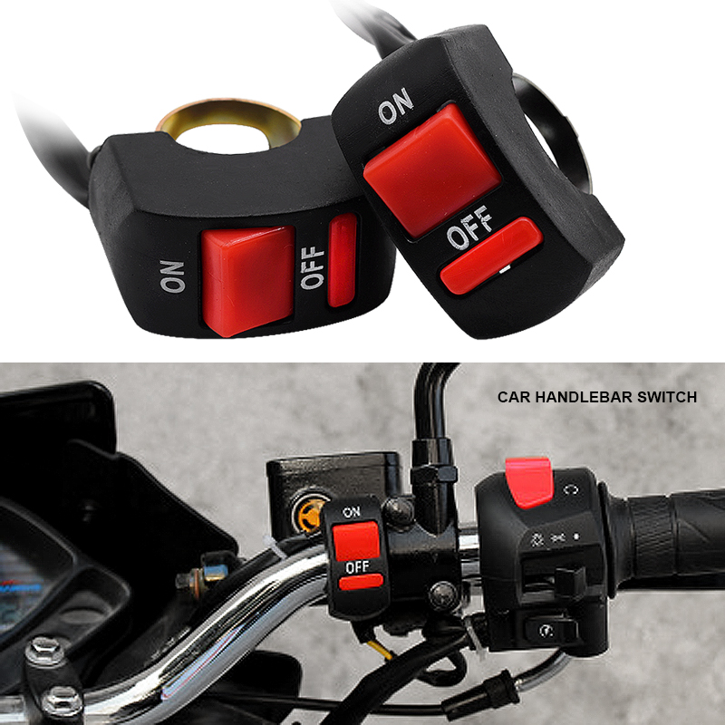 Переключатели для мотоциклов EURS, кнопка включения/выключения, для мотоциклов, аксессуары для мотоциклов