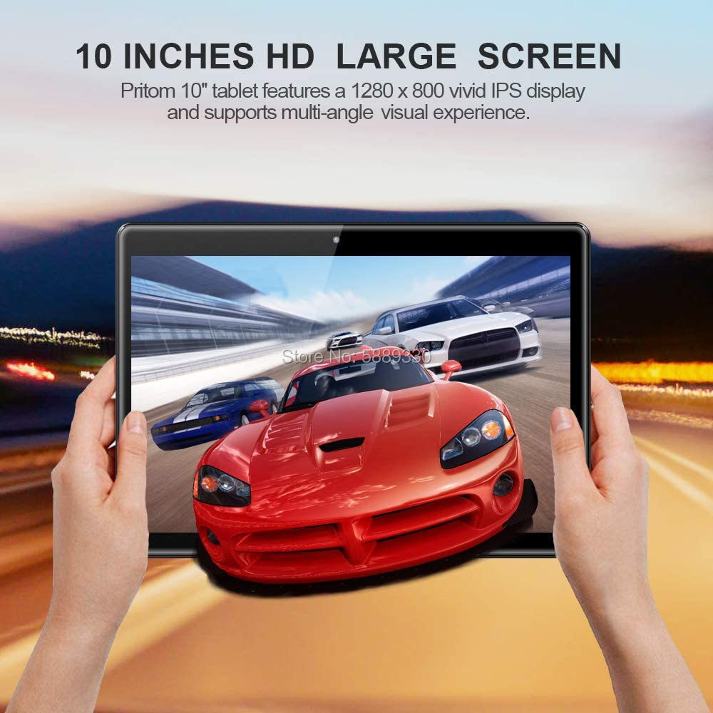 2020 new design 32GB ROM android 9.0 tablets Dual Sim Card Slots 3G Phablet 5.0MP GPS WiFi 10 inch android tablet pc