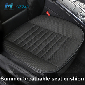 Image 1 - Ultra Luxury Car Seat Protection Single Seat Without Backrest Breathable Ice silk Car Seat Cover For Most Four Door Sedan&SUV