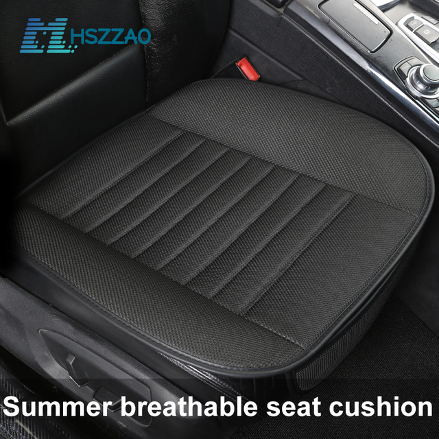 Ultra Luxury Car Seat Protection Single Seat Without Backrest Breathable Ice silk Car Seat Cover For Most Four Door Sedan&SUV