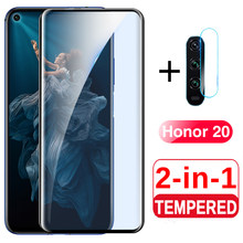 2 in 1 Camera Glass Honor 20 Screen Protector For Huawei Honor 20 Pro Tempered Glass On Honer20 20Pro YAL L21 L41 Back Lens Film(China)