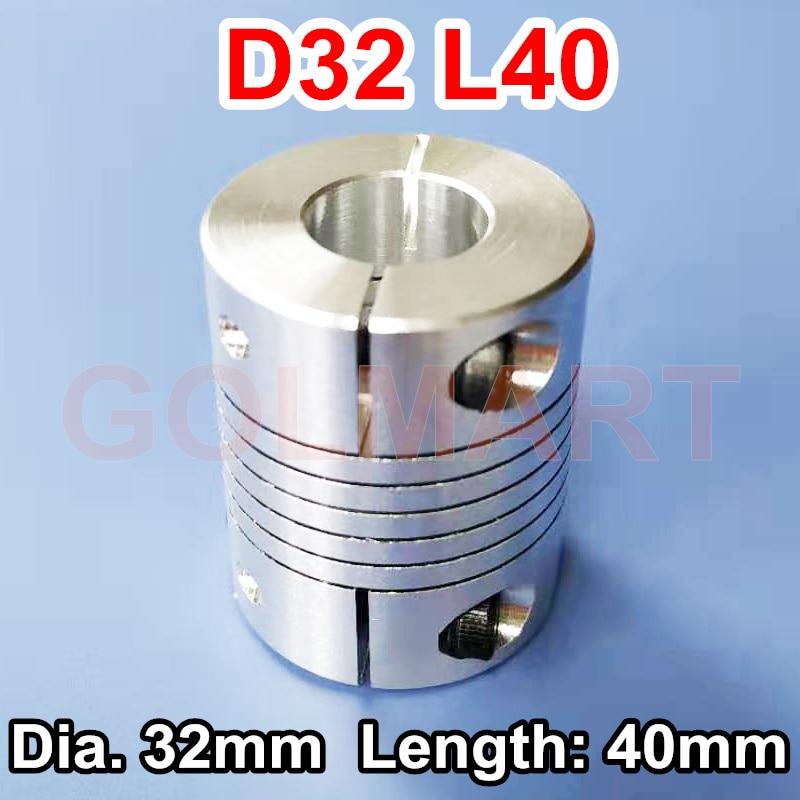 for encoder motor ballscrew 3 flexible coupling coupler 8mm*14mm D32L40