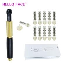 0.5 ミリリットルヒアルロン注射ペン高圧連続メソhyaluron酸銃注入器アトマイザー美容恋人のためのギフト