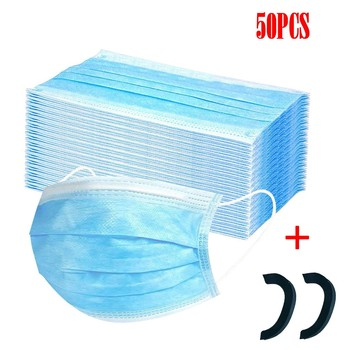 In Stock Disposable Protective Anti Flu Dust Pollution Mask Face Allergy Particulate Face Filter Air Purification Fast Shipping