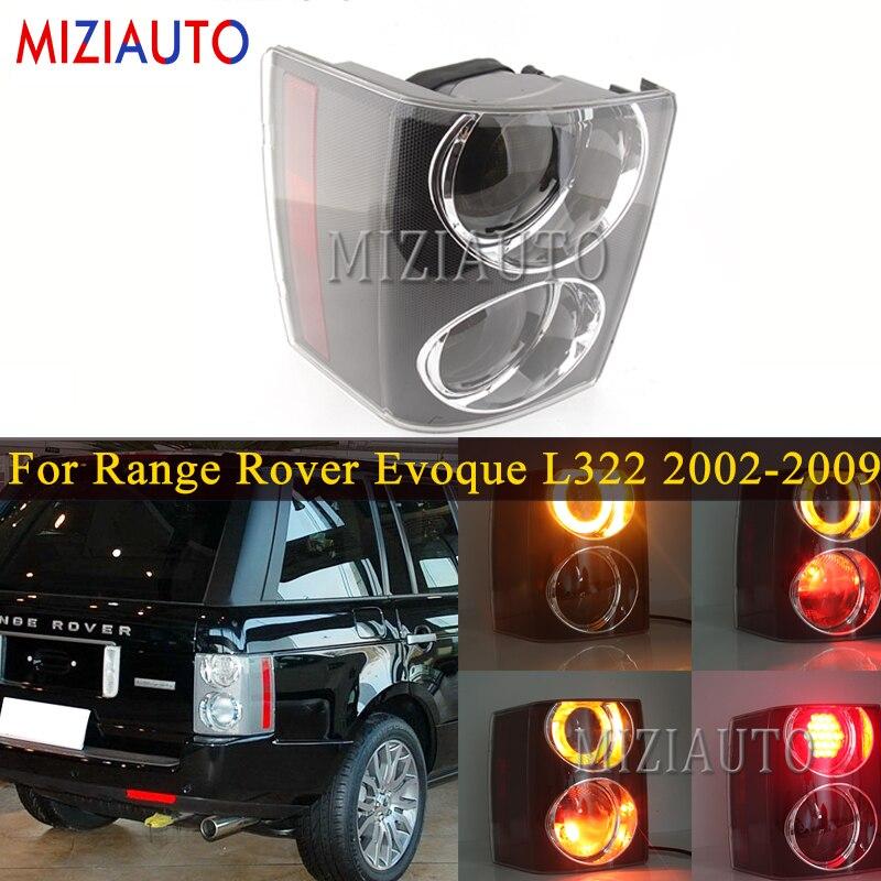 Rear Tail Light For Land Rover Range Rover Evoque L322 2002-2009 Smoke Reverse Tail Lights Bulb Stop Brake Bumper Light