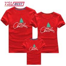 Одинаковые Рождественские футболки для всей семьи; одежда для папы и мамы; повседневная одежда для всей семьи с рождественской елкой; вечерние топы