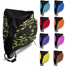 190T Polyester Fabric Waterproof Bike Rain Dust Cover Bicycle UV Protective For Utility Cycling Outdoor