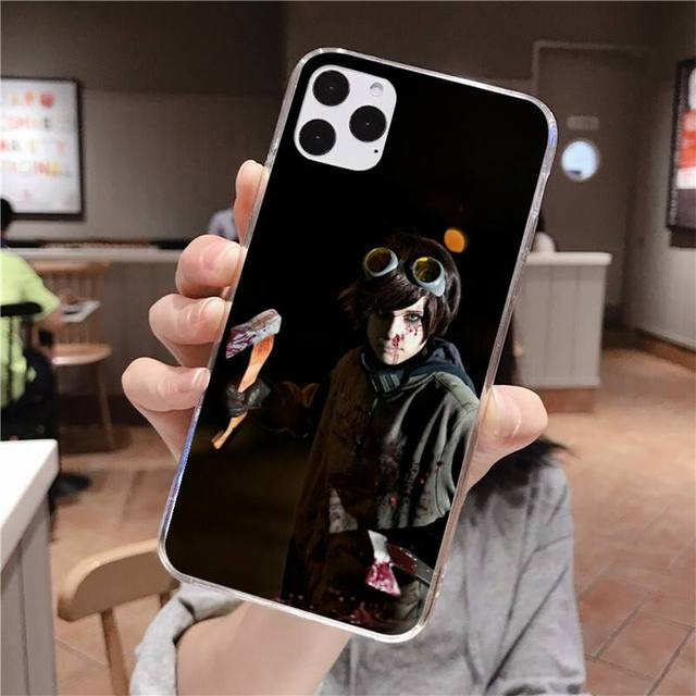 Creepypasta Ticci Toby x reader black Phone Case Hull for iPhone 11 pro XS MAX 8 7 6 6S Plus X 5S SE 2020 XR cover