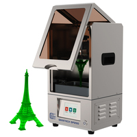 Geeetech DP200 LCD light curing 3D printer  DLP UV 40W 405NM resin With wifi fiction 20mm/h  Built in slice operation 3D Printers     -