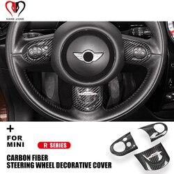 R55 R56 R57 R58 R59 R60 R61 Clubman Countryman voor Mini Cooper Stuurwiel Carbon Fiber Interieur Stickers