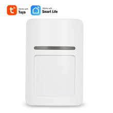 Akıllı Wifi kızılötesi hareket sensör dedektörü PIR anahtarı kablosuz PIR Alarm sistemi ev güvenlik anti hırsızlık destek APP TUYA